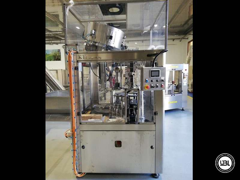 Used Capping Machine KTF ELECTRONIC CAPPER KTP 2-540 Year 2013 - 3