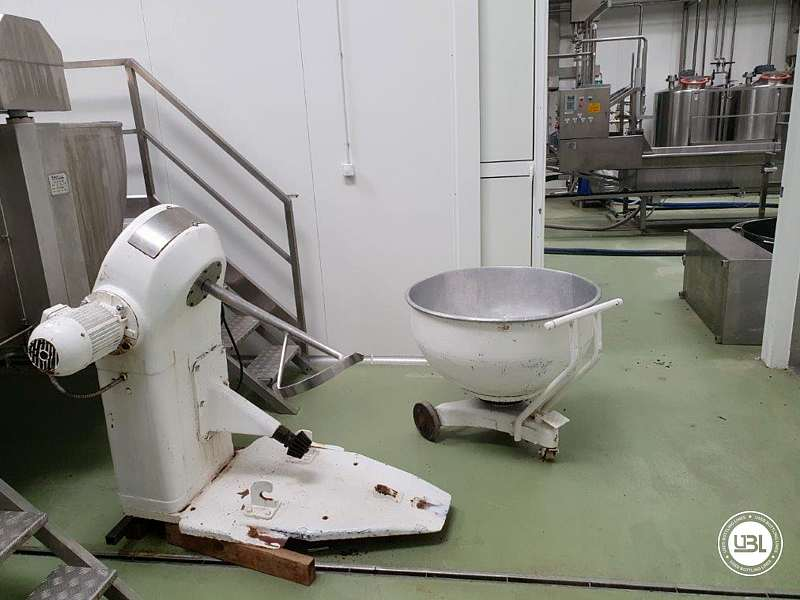 Used Complete Dairy – For the production of semi-hard and hard cheese, fresh cheese and curd - 19