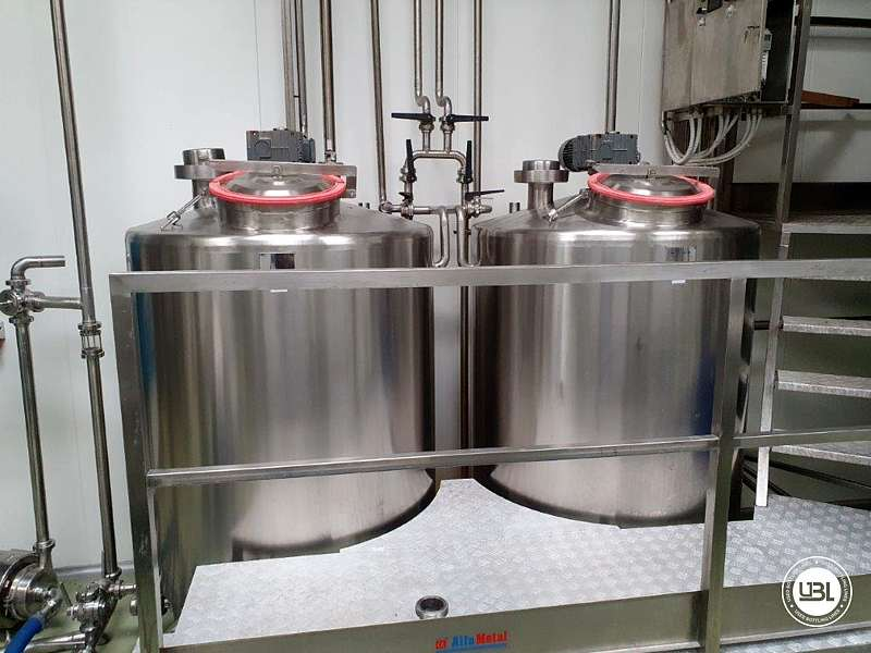 Used Complete Dairy – For the production of semi-hard and hard cheese, fresh cheese and curd - 26