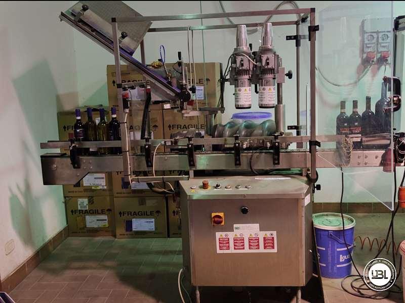 Used Capsuling Machine Enos Mod. 2 T.R. for PVC 2200 bph - 1