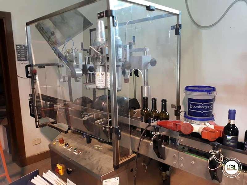 Used Capsuling Machine Enos Mod. 2 T.R. for PVC 2200 bph - 2