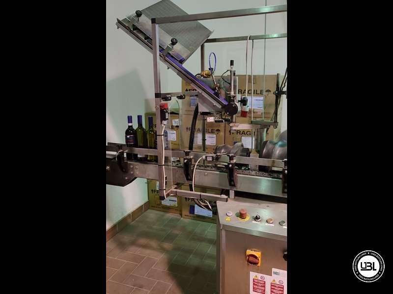 Used Capsuling Machine Enos Mod. 2 T.R. for PVC 2200 bph - 3