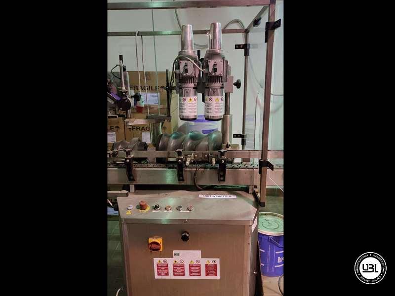 Used Capsuling Machine Enos Mod. 2 T.R. for PVC 2200 bph - 5