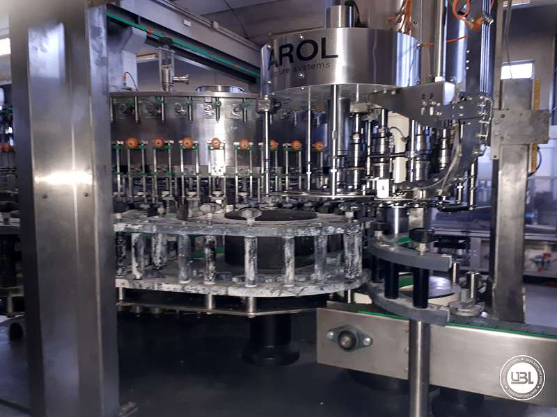Used Isobaric Complete Bottling Line PET Sparkling Water 18.000 bph - 1