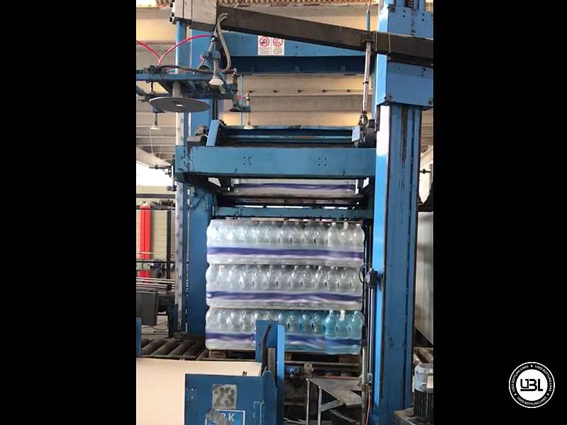 Used Isobaric Complete Bottling Line PET Sparkling Water 18.000 bph - 2