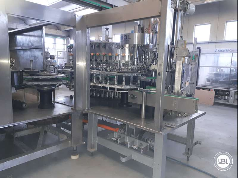 Used Isobaric Complete Bottling Line PET Sparkling Water 18.000 bph - 23