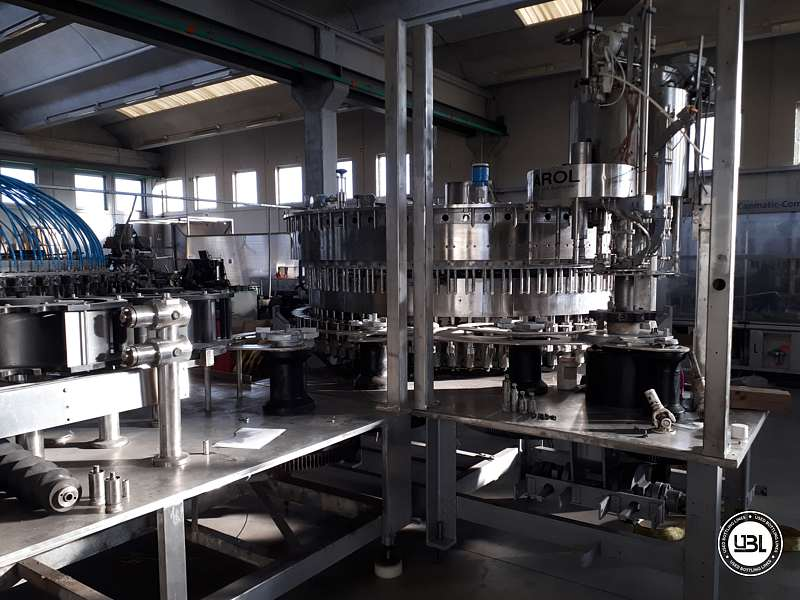 Used Isobaric Complete Bottling Line PET Sparkling Water 18.000 bph - 27