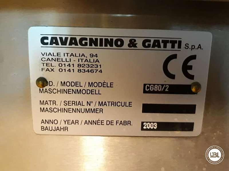Used Bottle Labeler Cavagnino & Gatti CG 80/2 Year 2003 - 4