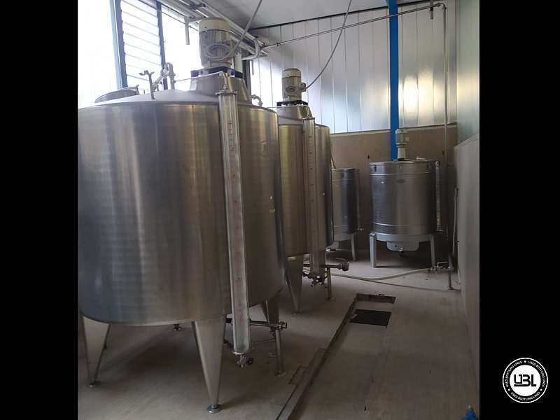 Used Syrup Room AZZINI 24.000 L/hour - 2