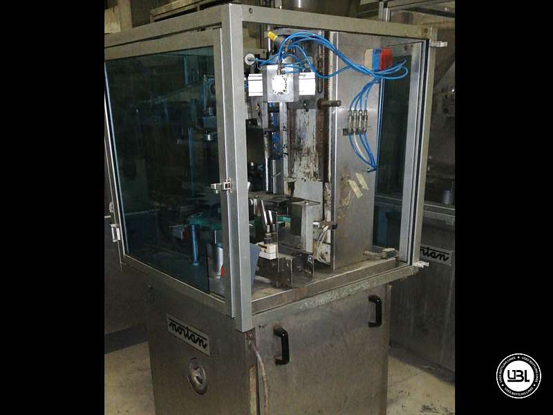 Encapsuladoras usada Nortan Unicap 35S 1 Cabeza Año 1992 – 900 Bph - 3
