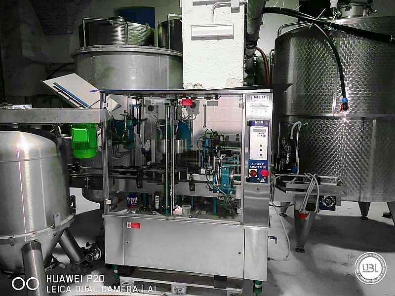 Used Capsuling Machine / Bottle Labeler MEB ADL12/MS2 – 2500 bph - 1