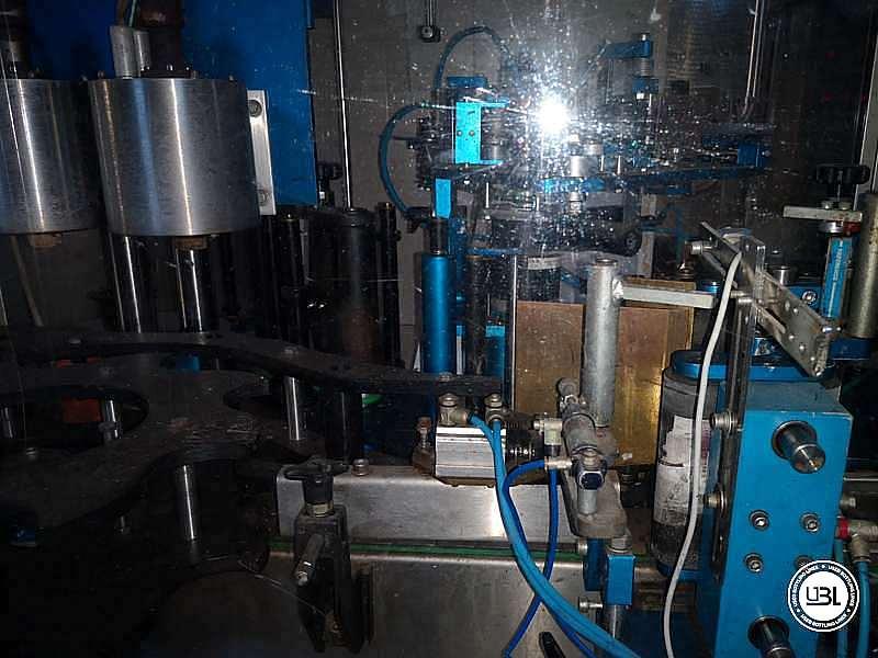 Used Capsuling Machine / Bottle Labeler MEB ADL12/MS2 – 2500 bph - 3