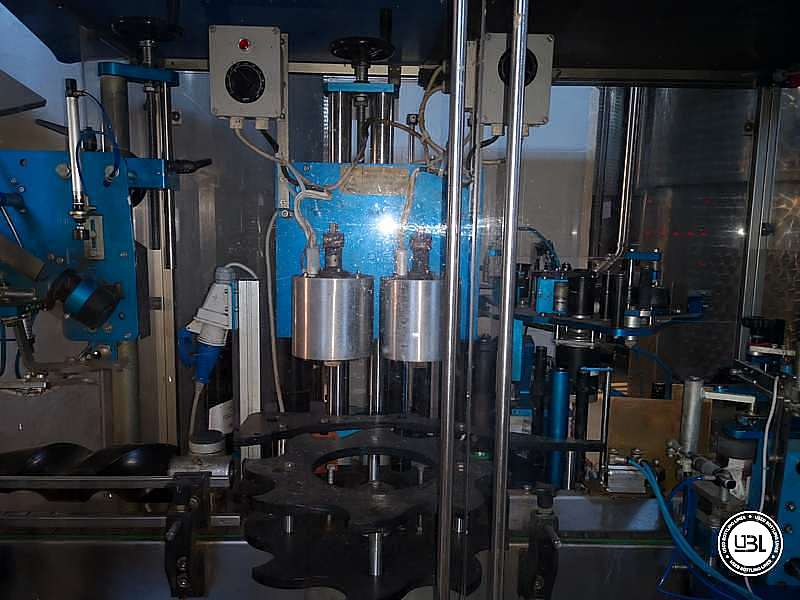 Used Capsuler and Labeler MEB ADL12/MS2 – 2500 bph - 4