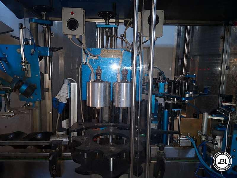 Used Capsuling Machine / Bottle Labeler MEB ADL12/MS2 – 2500 bph - 4
