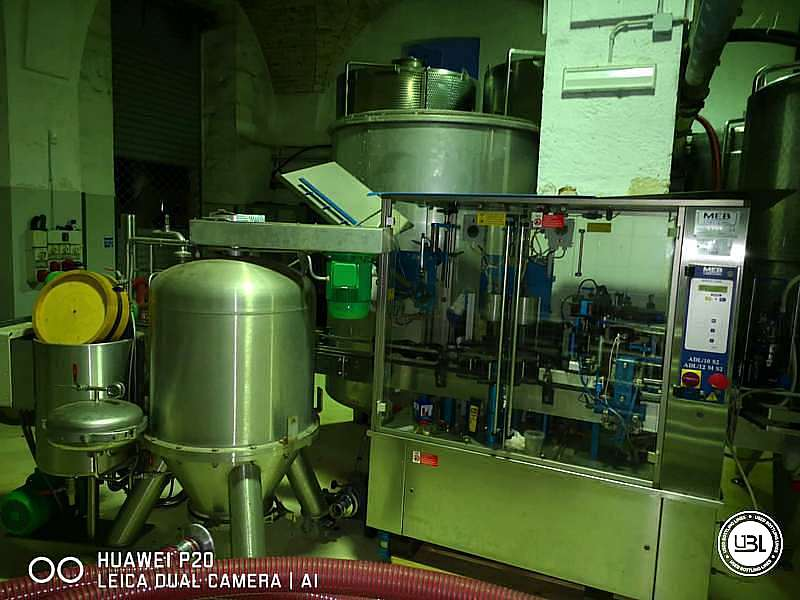 Used Capsuler and Labeler MEB ADL12/MS2 – 2500 bph - 5