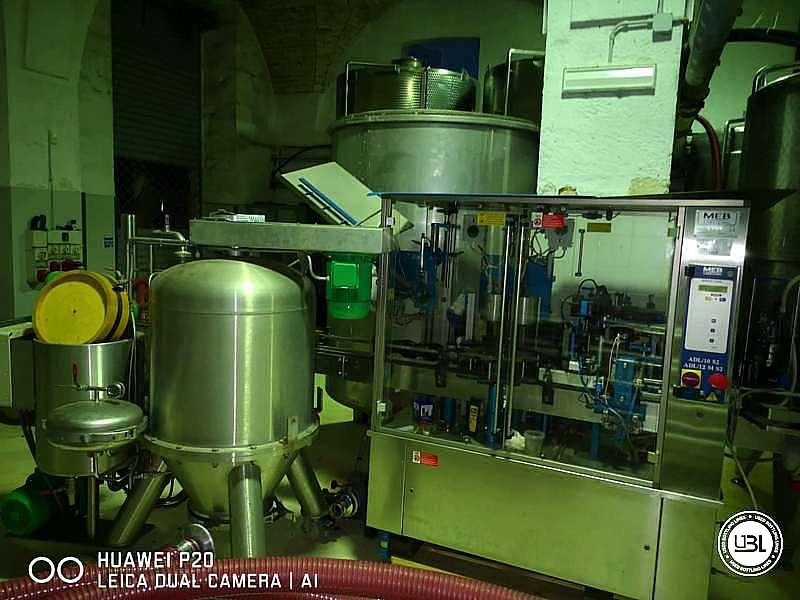 Used Capsuling Machine / Bottle Labeler MEB ADL12/MS2 – 2500 bph - 5
