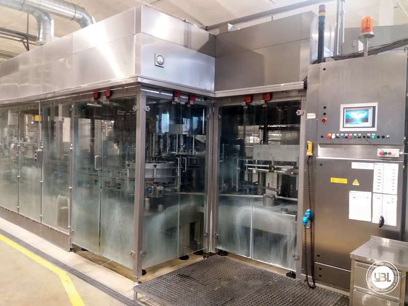 Used Isobaric Filling Triblock Simonazzi Sidel Eurostar PN 50/70/10K PET Water and CSD 19.000 bph - 0