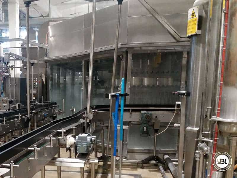Used Isobaric Filling Triblock Simonazzi Sidel Eurostar PN 50/70/10K PET Water and CSD 19.000 bph - 1
