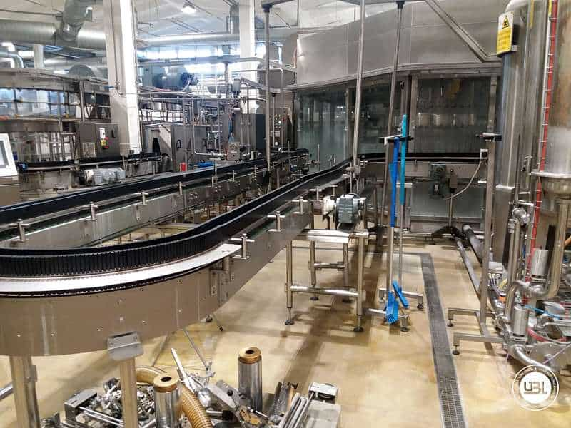 Used Isobaric Filling Triblock Simonazzi Sidel Eurostar PN 50/70/10K PET Water and CSD 19.000 bph - 2