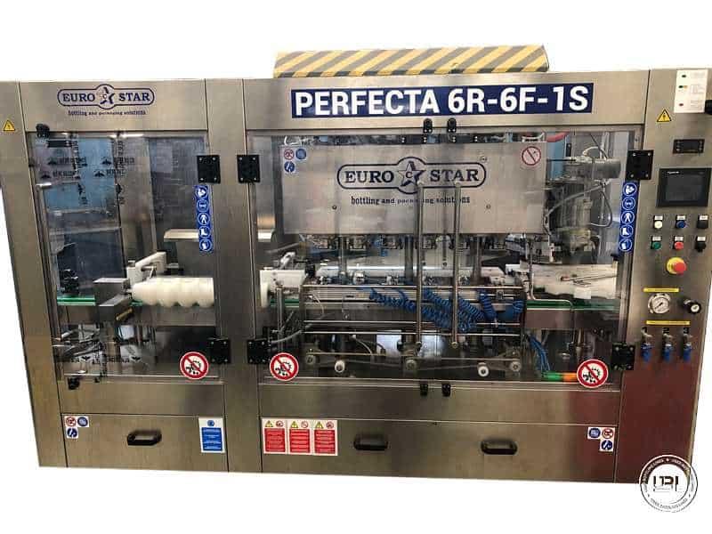 Tribloc de Remplissage Isobare d'occasion EUROSTAR PERFECTA 6R-6F-1S Canettes – Pour Bière, CSD Année 2018 Cph 600 - 4