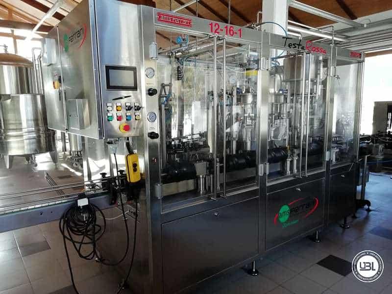 UsedIsobaric Filling Triblock AMS Ferrari 12-16-1 Testarossa ISO 16 Beer 2500 Bph - 0
