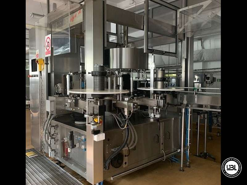 Used Complete PET Bottling Line for Flat Drinks and Water 9600 bph - 24