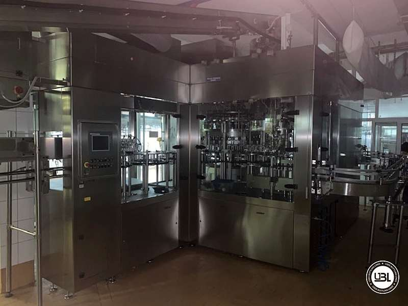Used Complete PET Bottling Line for Flat Drinks and Water 9600 bph - 8