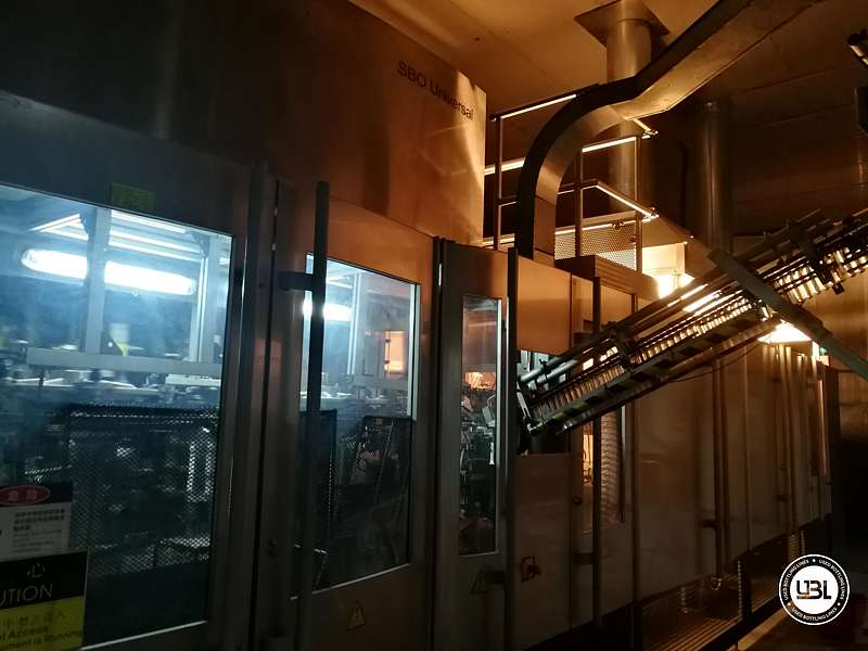 Used  Blow Moulding Machine Sidel model SBO14-20 neck PCO 1881 Year 2010 - 2
