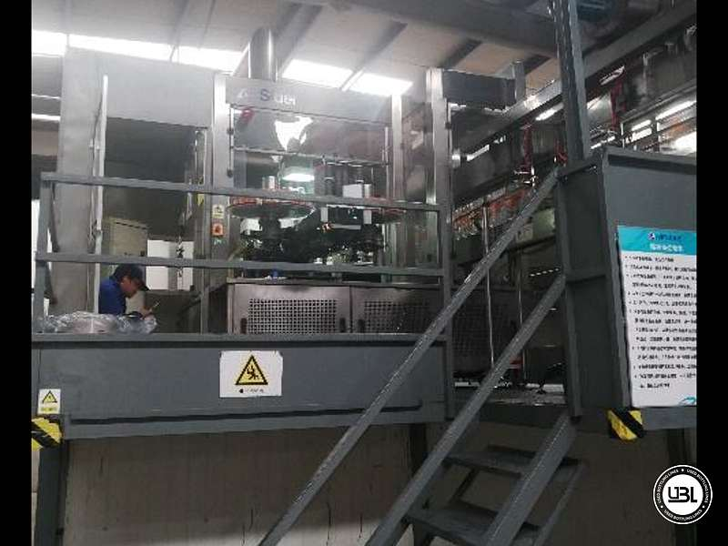 Used  Blow Moulding Machine Sidel model SBO14-20 neck PCO 1881 Year 2010 - 3