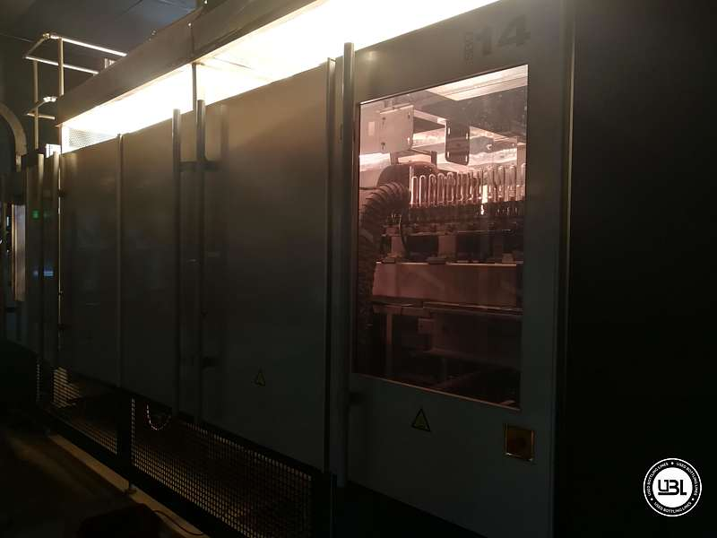Used  Blow Moulding Machine Sidel model SBO14-20 neck PCO 1881 Year 2010 - 9