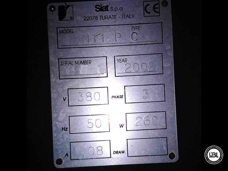 Used Case Sealer Siat SM11.P Year 2002 - 4