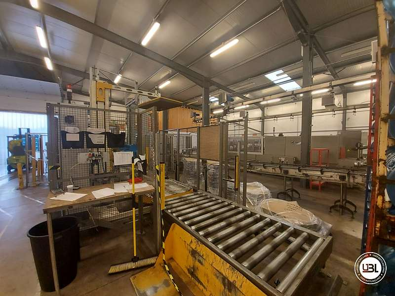 UsedPalletizer and Pallet Wrapper Tosa year 2013 – 20 pallets/h - 1