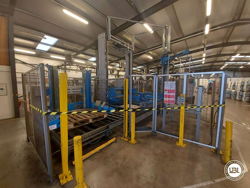 UsedPalletizer and Pallet Wrapper Tosa year 2013 – 20 pallets/h - 2
