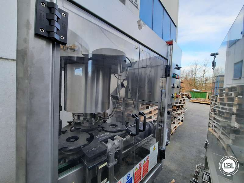 Used Capping Machine AROL Kamma TS 4 Heads for T-cap 4000 Bph T stopper - 2
