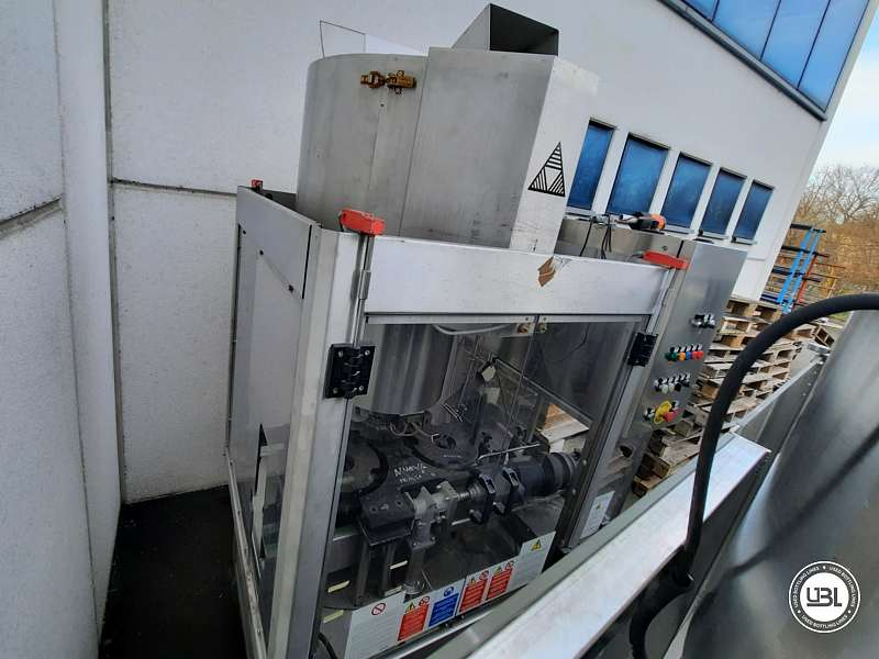 Used Capping Machine AROL Kamma TS 4 Heads for T-cap 4000 Bph T stopper - 3