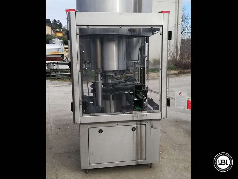 Used Capping Machine AROL Kamma TS 4 Heads for T-cap 4000 Bph T stopper - 6