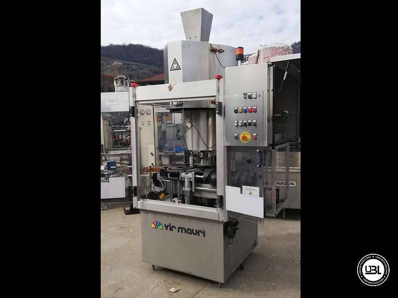 Used Capping Machine AROL Kamma TS 4 Heads for T-cap 4000 Bph T stopper - 7