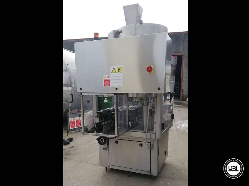 Used Capping Machine AROL Kamma TS 4 Heads for T-cap 4000 Bph T stopper - 8
