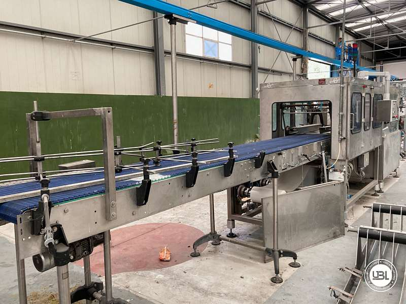 Used Isobaric Complete Bottling Line Glass PET for Still and Sparkling Water - 10