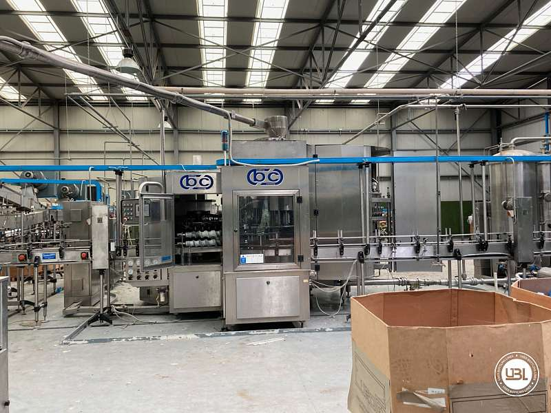 Used Isobaric Complete Bottling Line Glass PET for Still and Sparkling Water - 3