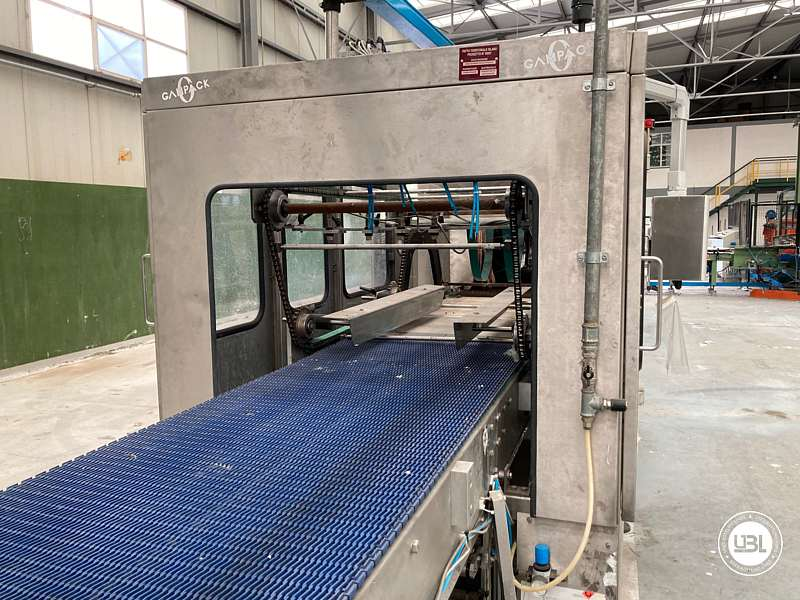 Used Isobaric Complete Bottling Line Glass PET for Still and Sparkling Water - 9