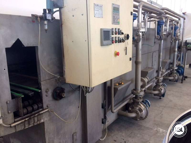 Used Tunnel Pasteurizer LPG INTERNATIONAL COMAC REV2010 2000 Liters per hour - 3