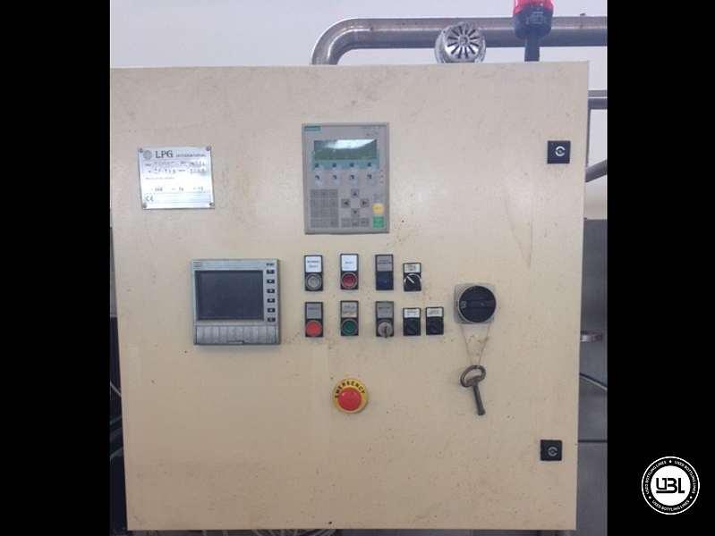 Used Tunnel Pasteurizer LPG INTERNATIONAL COMAC REV2010 2000 Liters per hour - 7