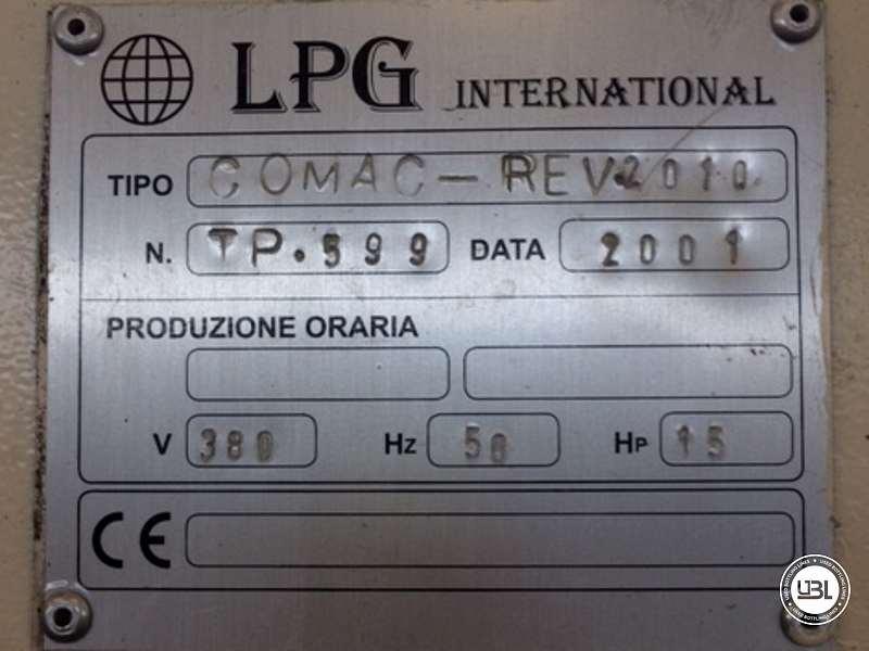 Used Tunnel Pasteurizer LPG INTERNATIONAL COMAC REV2010 2000 Liters per hour - 9