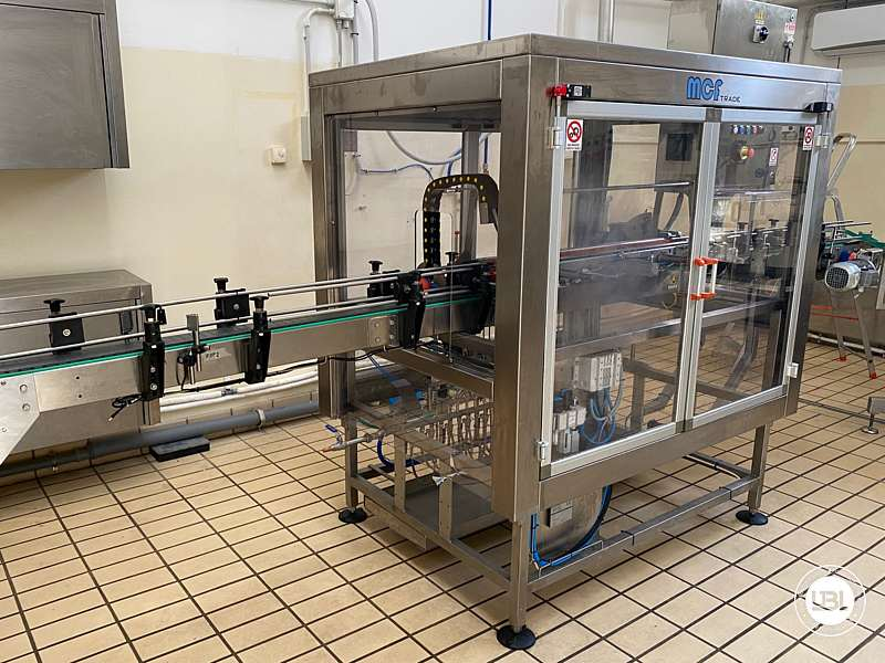 Used Blowing and Sterilization station MCF Trade Model 2 3500 bph - 1