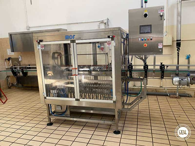 Used Blowing and Sterilization station MCF Trade Model 2 3500 bph - 2