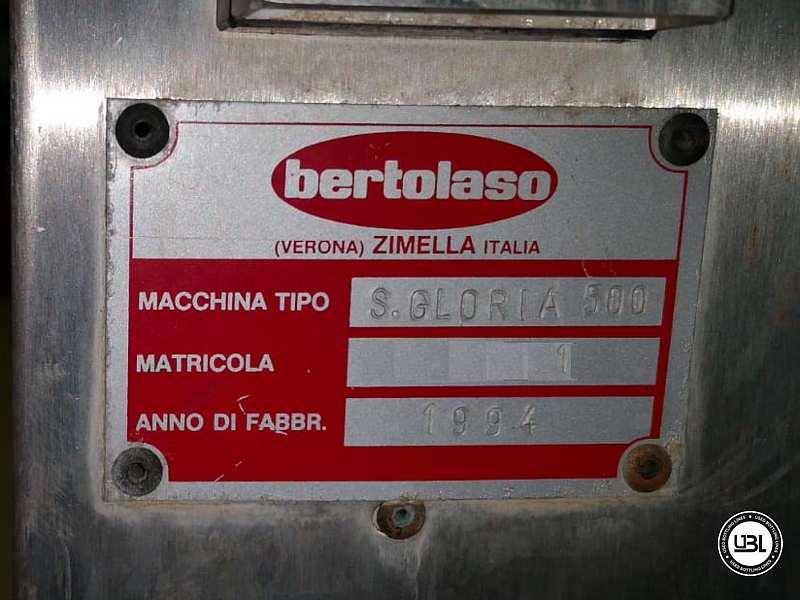 Used Capping Machine Bertolaso S.Gloria 500 Straight Cork – 2500 Bph Straight cork - 5