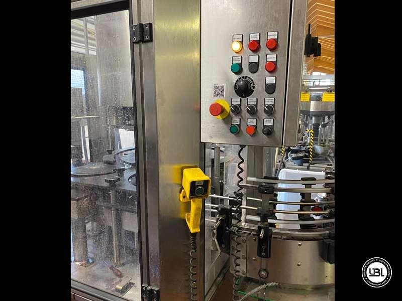Used Bottling Capsuling Machine Nortan Prisma 6 + 6 Heads PVC Polilaminate year 1999 up to 8000 bph - 1