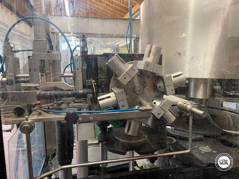 Used Bottling Capsuling Machine Nortan Prisma 6 + 6 Heads PVC Polilaminate year 1999 up to 8000 bph - 2