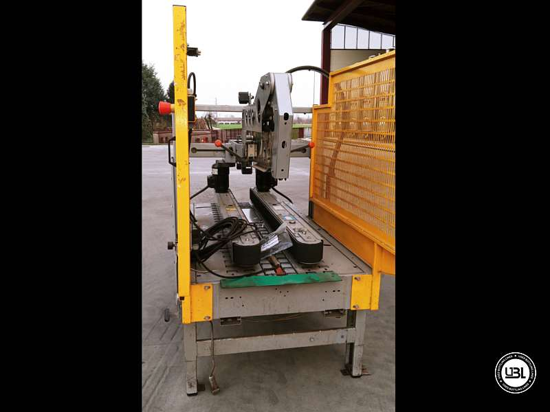 Used Case Sealer Siat SM11.P C for Adhesive tape 500 cartons/hour - 2
